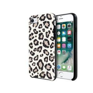Leopard / cheetah Kate spade iPhone 6/7/8 case